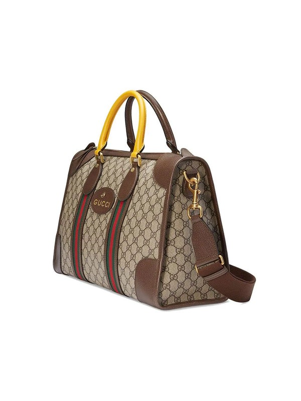 dd174e95fc Gucci - Soft Gg Supreme Duffle Bag With Web - Women