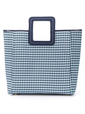 Staud - Blue And White Shirley Tote - Totes