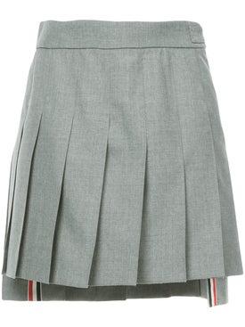 Thom Browne - Dropped Back Mini Pleated Skirt - Women