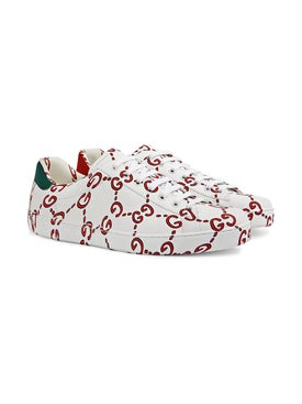Gucci - Gg Print Ace Sneakers - Men