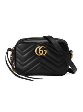 Gucci - Mini Marmont Shoulder Bag Black - Women
