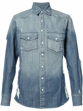 Hawriver denim shirt BLUE