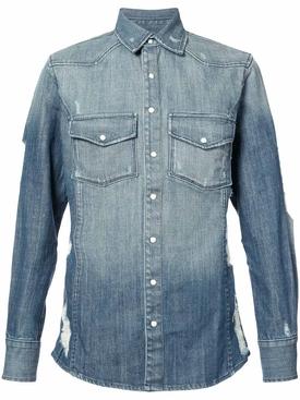 Hawriver denim shirt BLUE