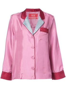 For Restless Sleepers - Silk Ada Top Pink - Women