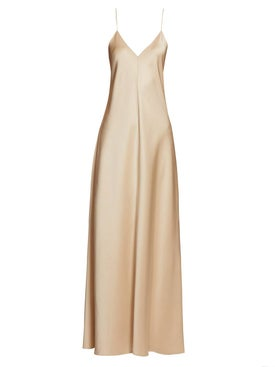 The Row - Guinevere Dress Neutral - Women