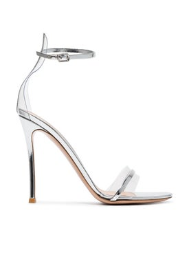 Gianvito Rossi - Metal Plexi High Sandal - Women