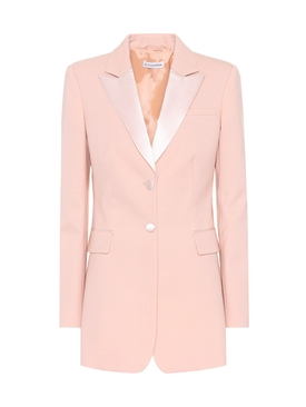 West stretch-wool blazer