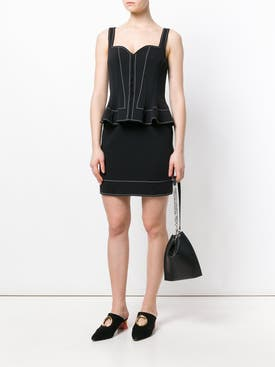 Givenchy - Peplum Waist Fitted Dress - Women