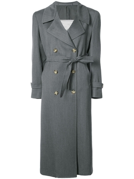 Christie wool trench GREY