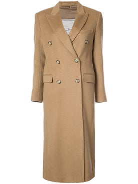 Giuliva Heritage Collection - Cindy Double Breasted Trench Neutral - Women