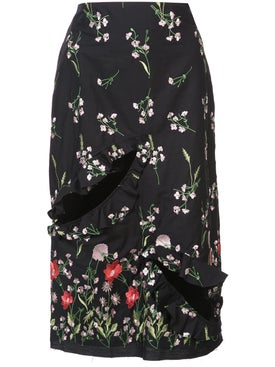 Marques'almeida - Floral Print Skirt - Women