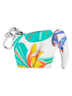Paula's Ibiza Elephant Waterlily Printed Charm Pouch