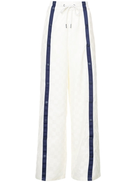 tearaway track pants WHITE