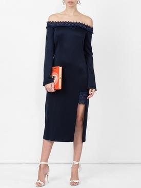 aguafina off-the-shoulder dress