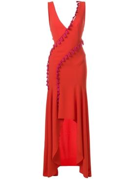 cuzco tassel dress