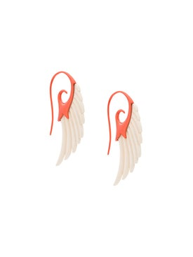 Noor Fares - Fly Me To The Moon Wing Earrings - Women