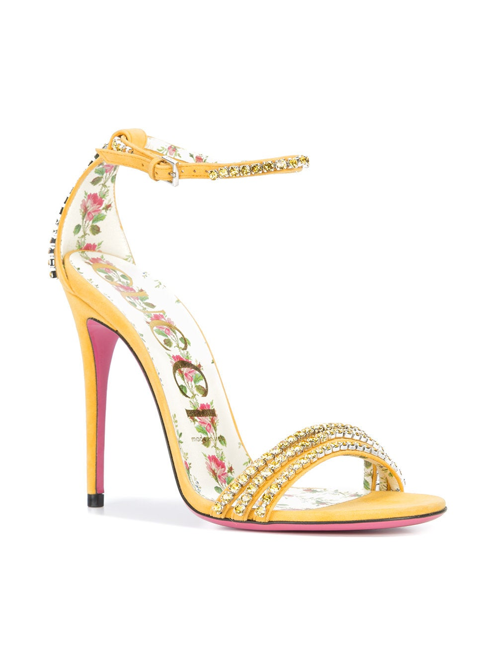 2596d5fd7 Skip to the beginning of the images gallery. You May Also Like; Recently  Viewed. Gucci - Crystal Embellished Sandals ...