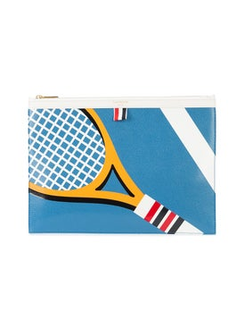 Thom Browne - Tennis Racket Print Pounch - Men