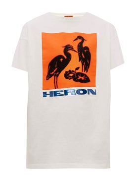 Heron Preston - Heron Bird Print T-shirt White - Women