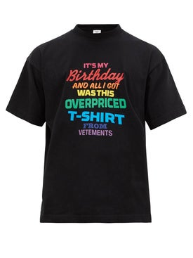 Vetements - Birthday T-shirt Multicolor - T-shirts