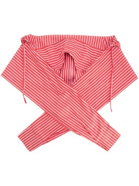 Balenciaga - Striped Scarf Red - Men