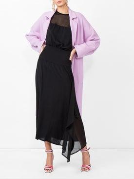 Paco Rabanne - Asymmetric Dress With Virgin Wool - Women