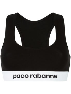 Paco Rabanne - Logo Cropped Top - Women