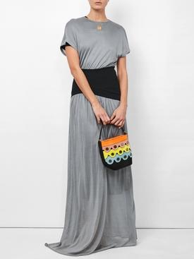 long shortsleeved dress
