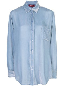 Sies Marjan - Sander Corduroy Shirt Light Blue - Women