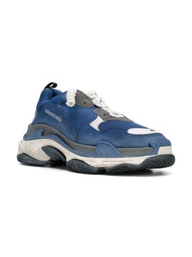 Balenciaga - Nacy Triple S Sneakers Blue - Men