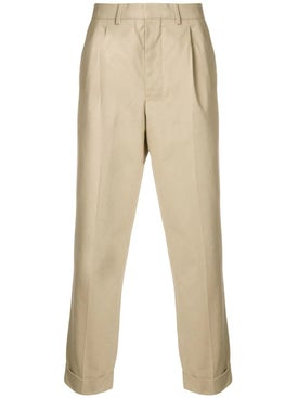 Ami Alexandre Mattiussi - Pleated Carrot Fit Trousers - Men
