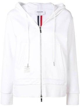 Thom Browne - Center-back Stripe Zip-up Hoodie - Sweatshirts