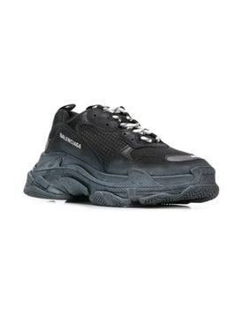 Balenciaga - Black Triple S Sneakers Black - Men