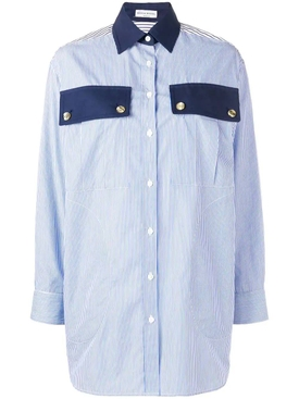 Sonia Rykiel - Blue Classic Striped Shirt - Women