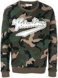 Valentino - Logo Patch Camouflage Sweatshirt - Men