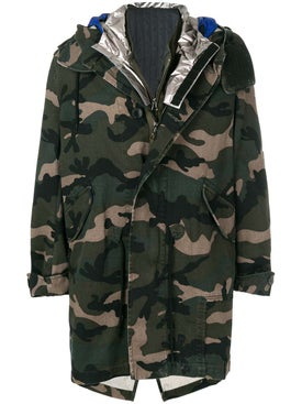 Valentino - Camouflage Parka - Long