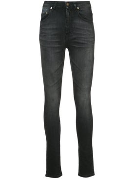Saint Laurent - High Waisted Skinny Jeans - Women