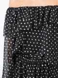 Saint Laurent - Polka-dot One Shoulder Dress - Women