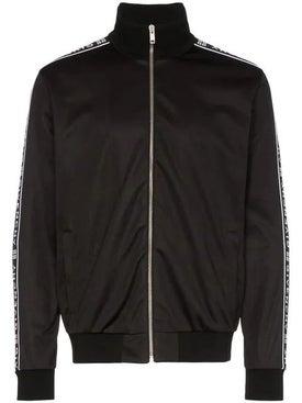 Givenchy - Ticker Sleeve Logo Zip Up Track Jacket Black - Men