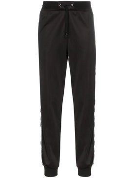 Givenchy - Logo Stripe Track Pants Black - Men