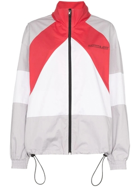 Mustermann color-block jacket RED