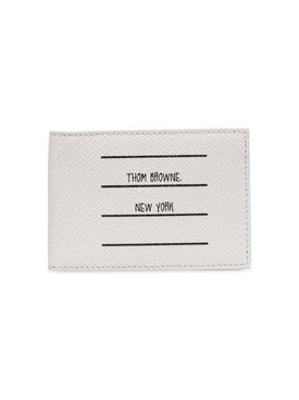 Thom Browne - Paper Label Billfold Wallet - Men