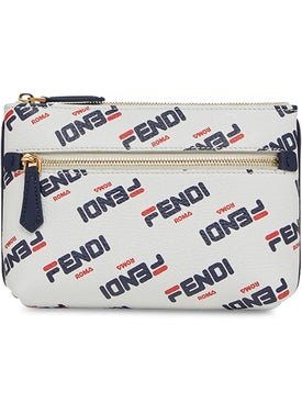 Fendi - Fendi Mania Medium Pyramid Pouch - Women