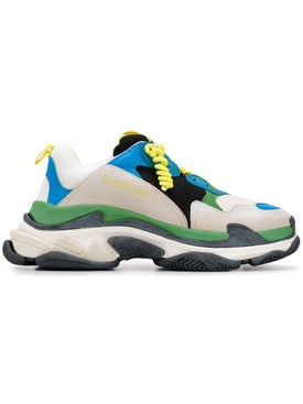 Balenciaga - Multicolor Fabric Triple S Sneakers Multicolor - Men