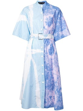Proenza Schouler - Tie Dye Shirt Dress - Women