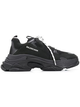 Balenciaga - Black Triple S Sneakers - Men