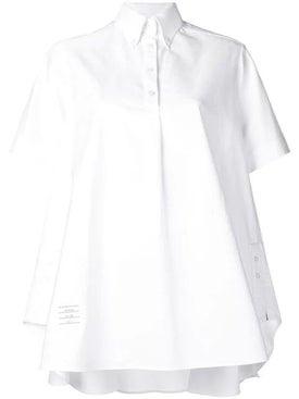 Thom Browne - Oxford Oversized Circle Shirtdress - Women