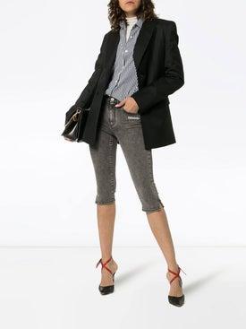 Off-white - Denim Capri Trousers - Women