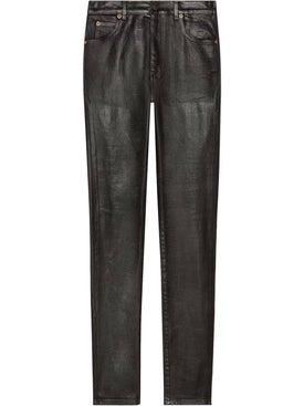 Gucci - Coated Denim Skinny Jeans - Women