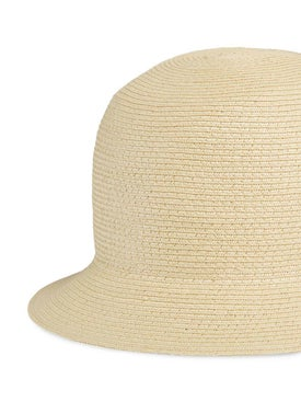 Gucci - Gg Logo Raffia Hat - Women